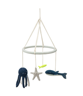 Under the Sea baby mobile - Organic