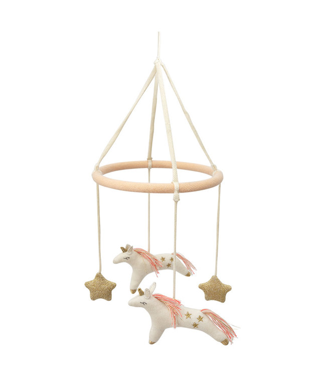 Meri Meri Unicorn baby mobile - Organic