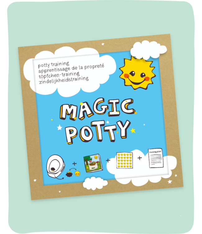 Invented 4 kids Magic Potty Zindelijkheidstraining