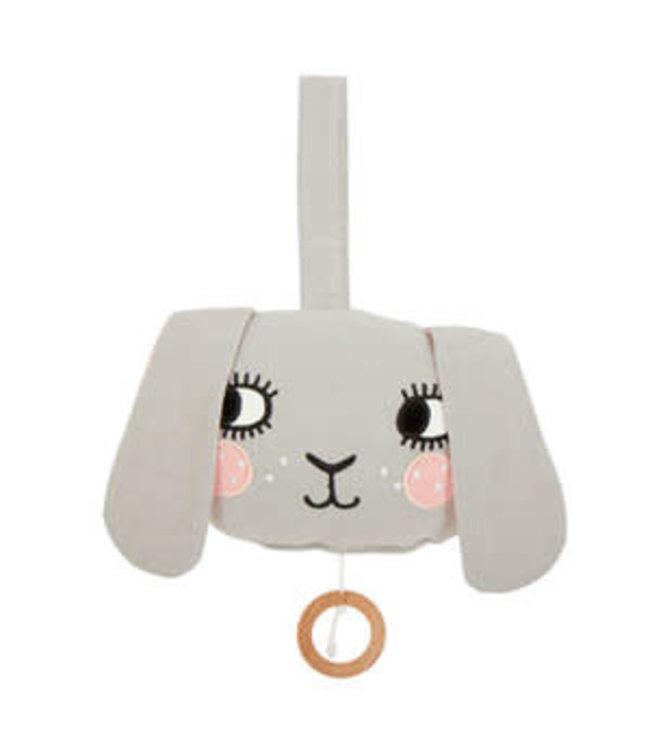 Roommate Bunny Music Mobile - Organic Cotton