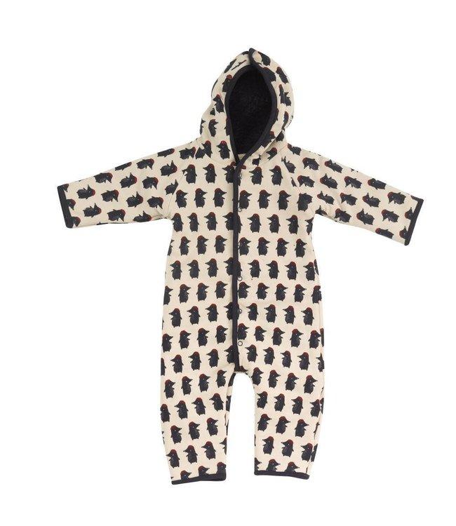 Pigeon Winterpak GOTS Katoen - Snuggle suit Mole - Red Baret