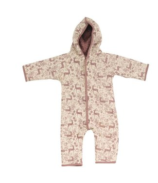 Pigeon Winterpak GOTS Katoen - Snuggle suit Deer- Rose