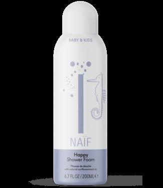 Naif Happy shower foam Baby & Kids - Verzorgende doucheschuim happy 200ml