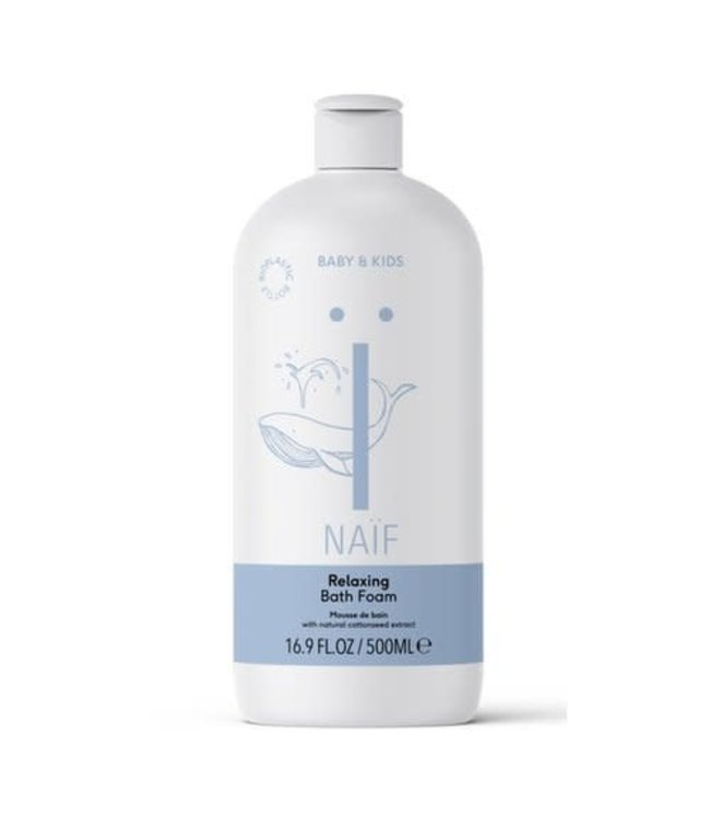 Naif Relaxing Bath Foam - Baby Badschuim 500ml