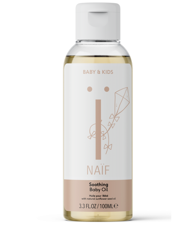 Naif Soothing Baby Oil - Verzachtende Baby massage olie 100 ml