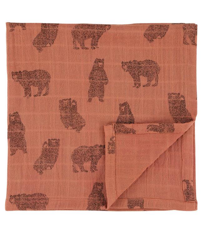 Trixie Hydrofieldoek GOTS 110 x 110 cm Brave Bear