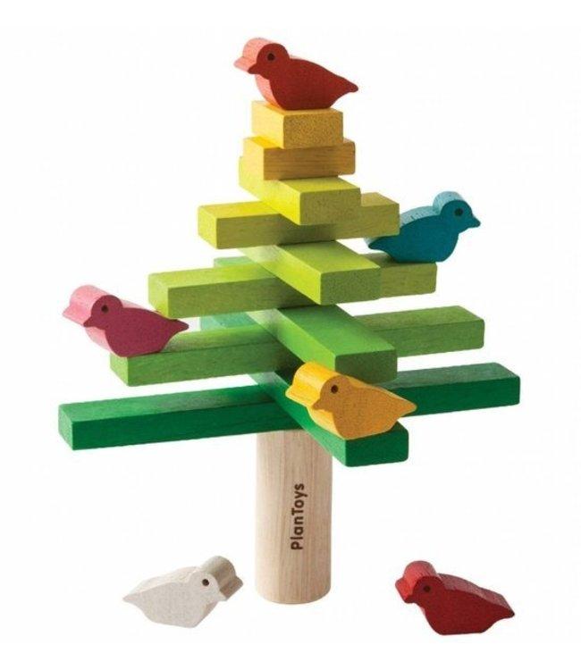 Plan Toys Balancing tree - Balanceer boom behendigheidsspelletje van duurzaam hout