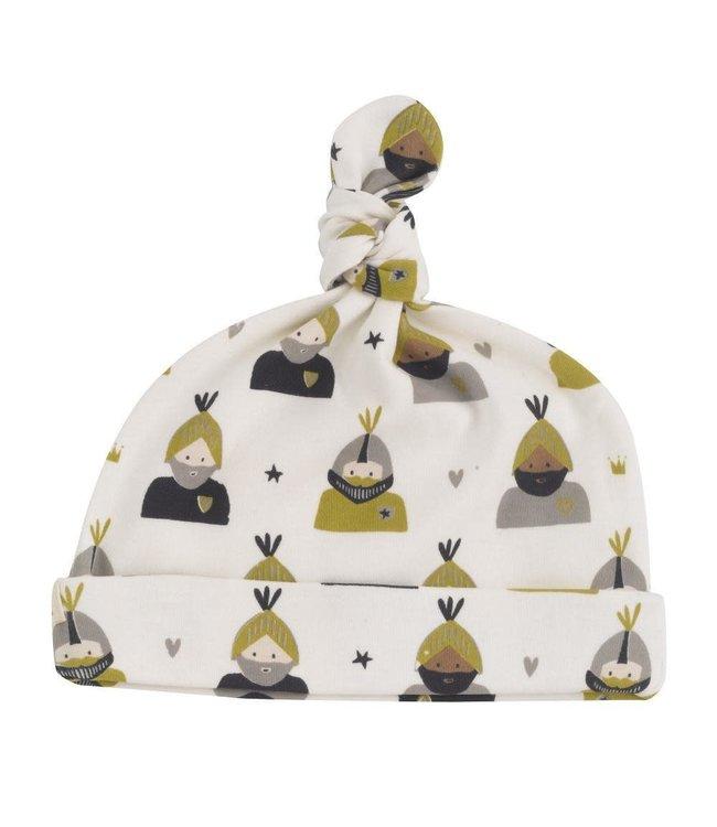Pigeon Knoopmutsje GOTS katoen Knight - Olive