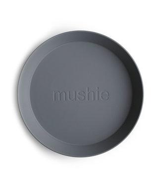 Mushie Bord rond Smoke