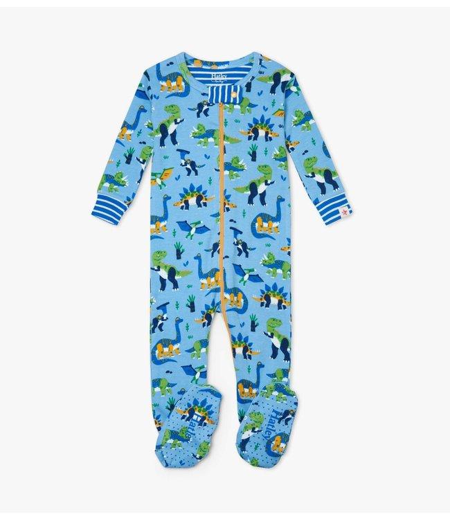 Hatley Pyjama met voet Curious Dinos - Organic Cotton