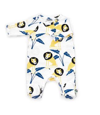 Onnolulu Boxpakje - Pyjama met voetjes GOTS Jersey Katoen Jungle