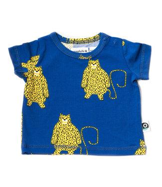 Onnolulu T- shirt Baby GOTS Jersey Katoen Leopard (AOP)