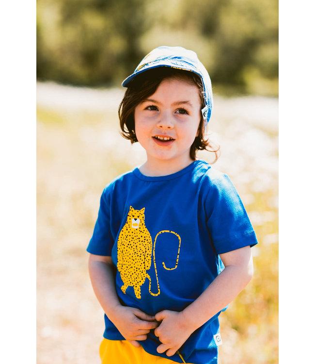 Onnolulu T- shirt Kids GOTS Jersey Katoen Leopard Single Print