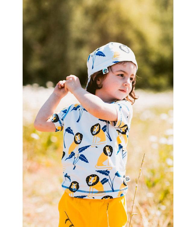 Onnolulu T- shirt Kids GOTS Katoen Jungle (AOP)