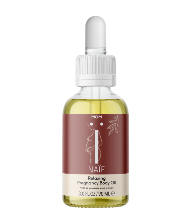 Naif Relaxing Pregnancy Body oil - Ontspannende zwangerschapsolie 90 ml