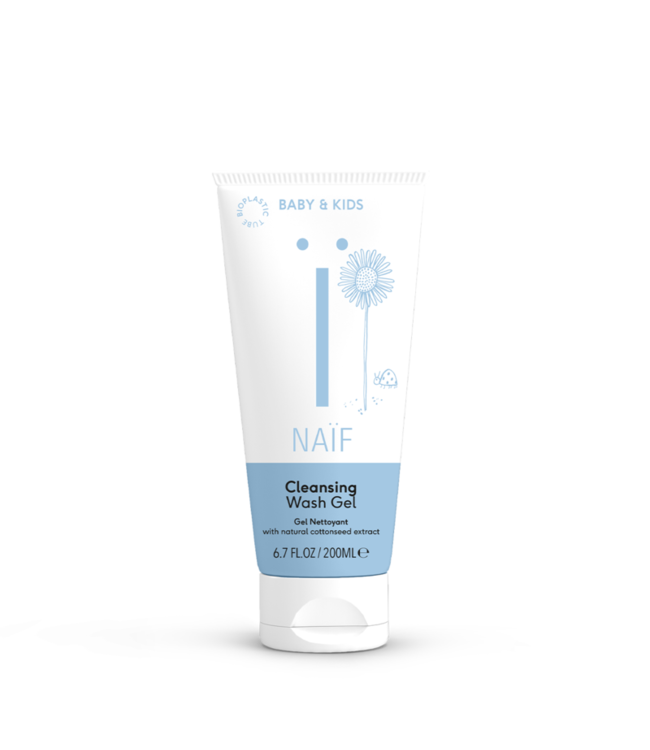 Naif Cleansing Wash gel - Baby Bad- & Douchegel 200 ml