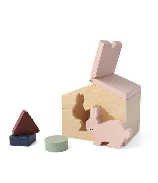 Trixie Houten Huis (Duurzaam FSC Hout) - Mrs. Rabbit