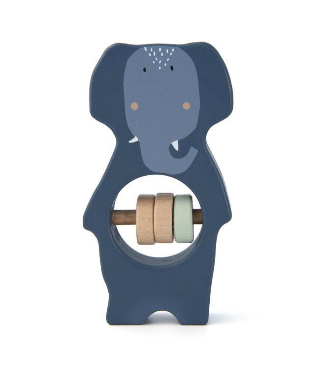 Trixie Houten rammelaar (Duurzaam FSC Hout) - Mrs. Elephant