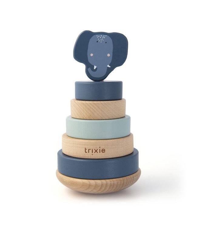 Trixie Houten stapeltoren (Duurzaam FSC Hout) - Mrs. Elephant
