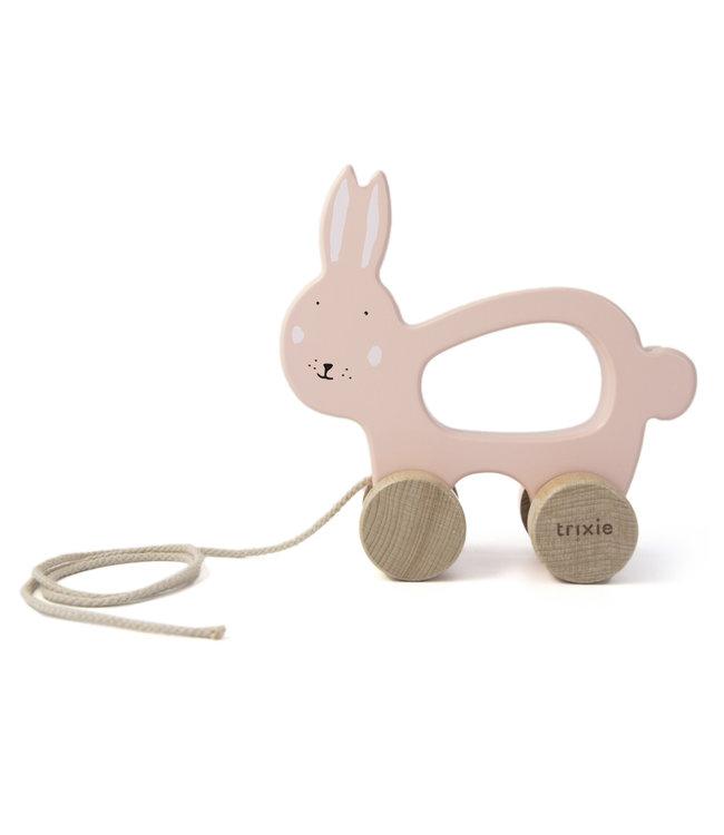 Trixie Houten trekspeeltje (Duurzaam FSC Hout) - Mrs. Rabbit