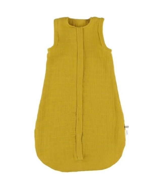 Trixie Trixie zomerslaapzak Organic Hydrofiel 70 cm [2-9 mnd - TOG 0.8] Bliss Mustard