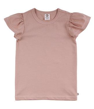 Muesli Cozy me T-shirt met vlindermouwen GOTS katoen Dream Blush