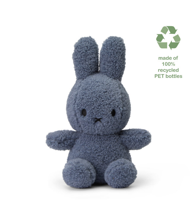 Nijntje Nijntje knuffel Teddy  - 100% gerecycled  Blue - 23 cm