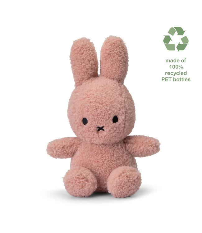 Nijntje Nijntje knuffel Teddy  - 100% gerecycled  Pink - 23 cm