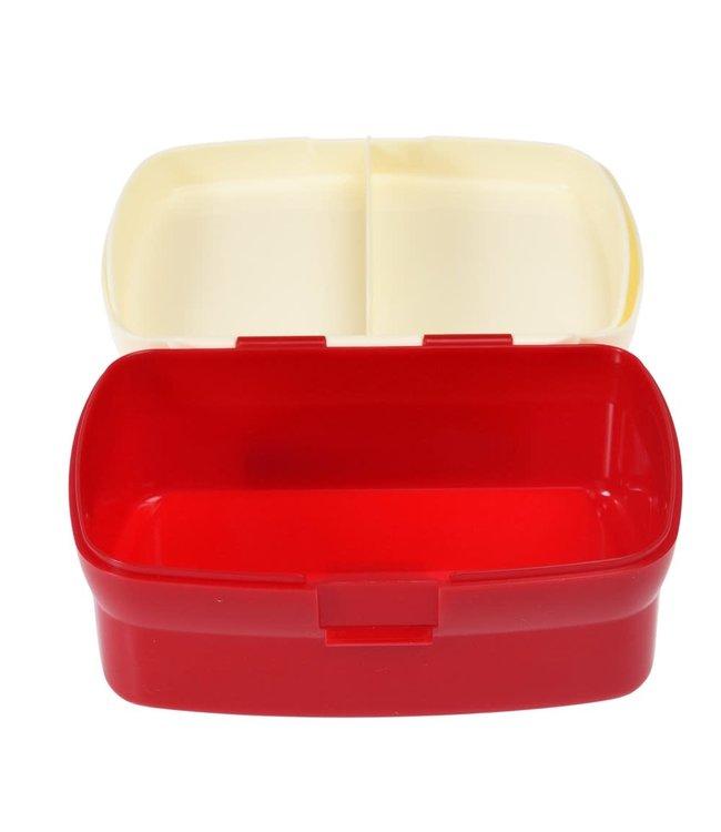 Rex London Lunchbox met uitneembaar blad met vakjes Space Age