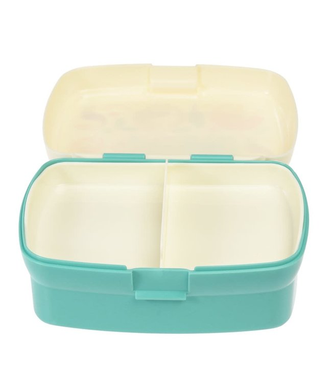 Rex London Lunchbox met uitneembaar blad met vakjes Wild Wonders