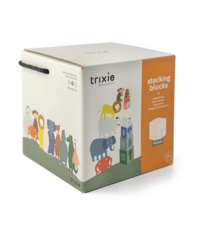 Trixie Stapelblokken - gedrukt met soya inkt op FSC karton