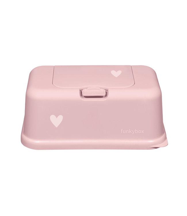 Funky Box Funky Box Pale Pink Little Heart