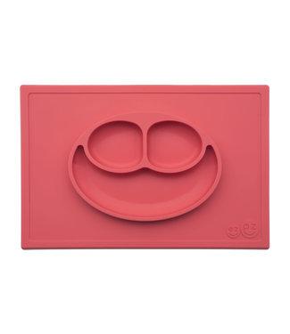EZPZ EZPZ Happy mat Placemat & plate in one Coral
