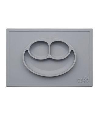 EZPZ EZPZ Happy mat Placemat & plate in one Grey