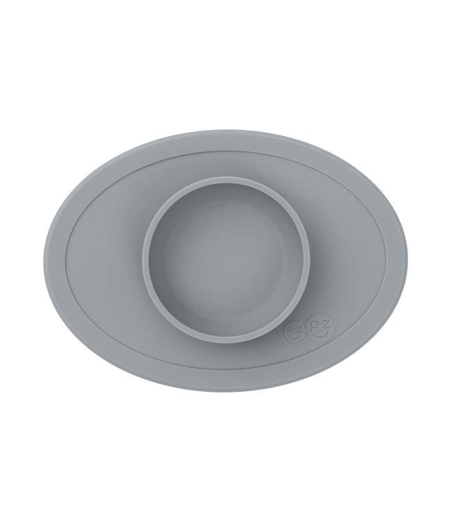 EZPZ EZPZ tiny bowl Placemat & bowl in one Grey