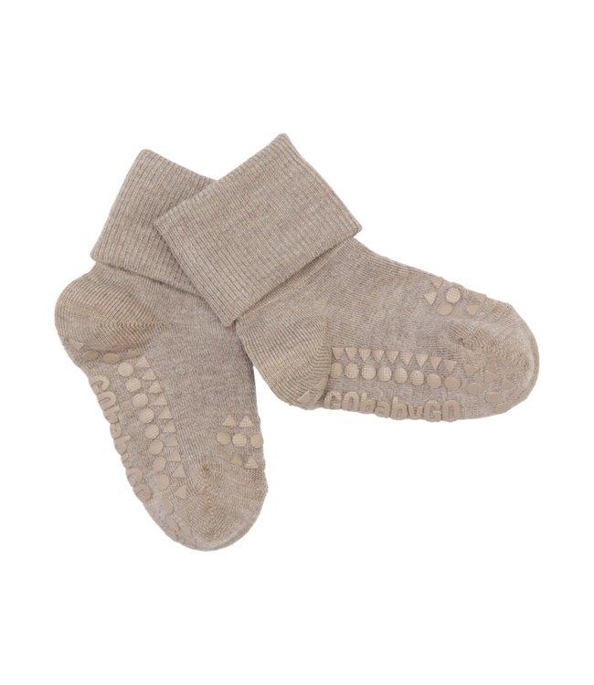Go baby go Bamboe Sokken met anti-slip Sand