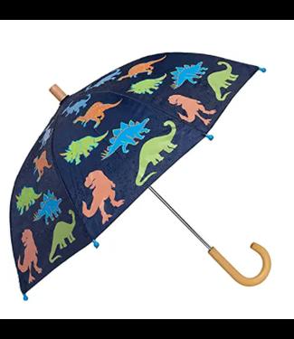 Hatley Linework Dinos Paraplu - Colour Changing