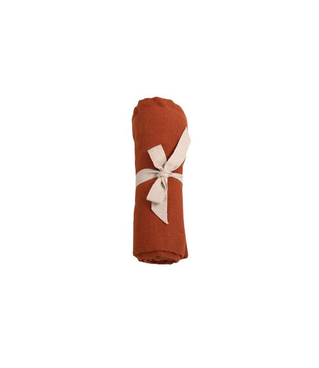 Les reves d'anais Filibabba Hydrofieldoek 65x65 cm Dark Orange