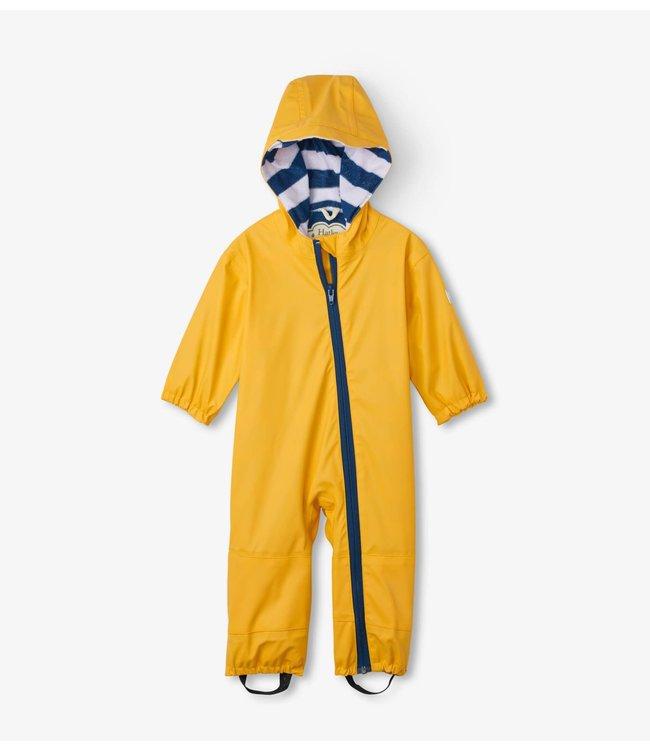 Hatley Hatley Regenpak - Yellow met badstof gevoerd