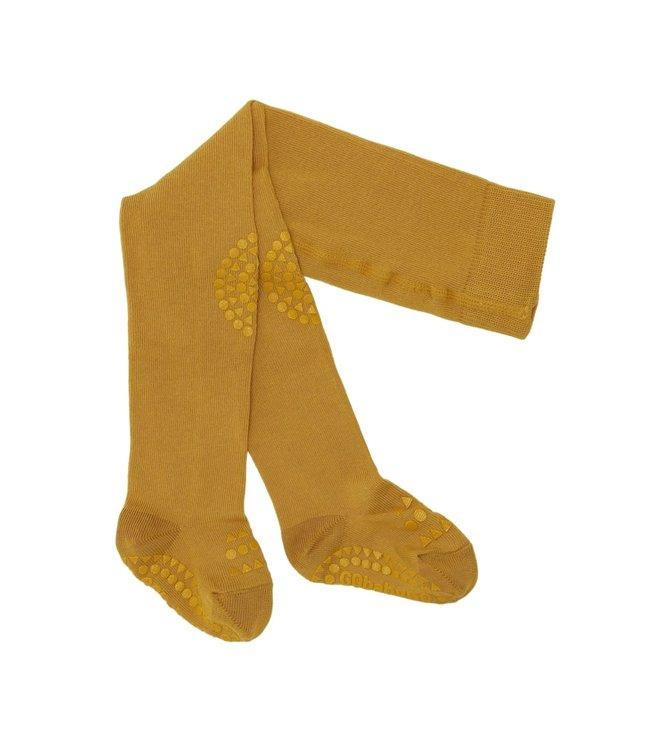 Go baby go Anti- slip maillot Mustard - Oekotex