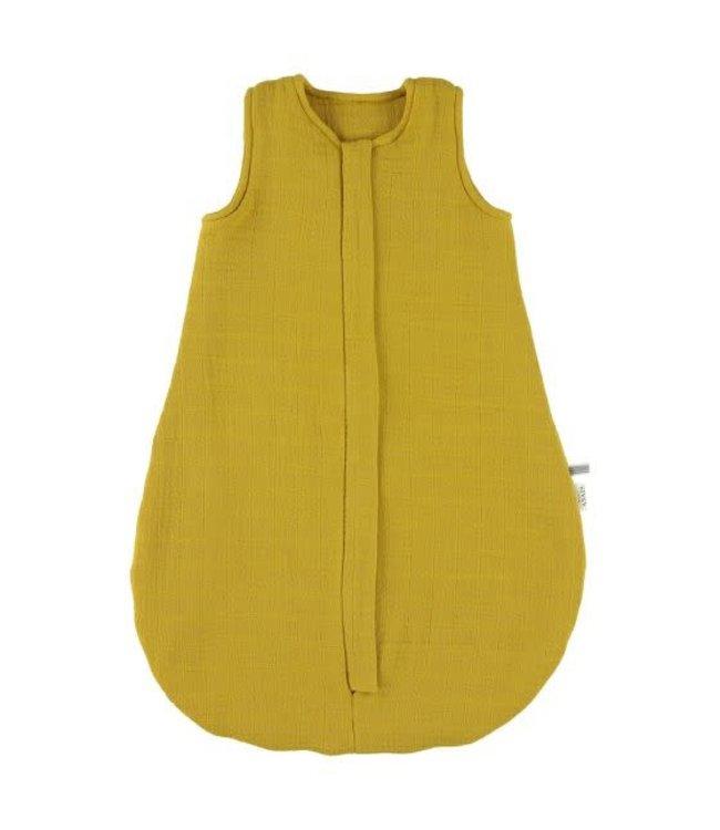 Trixie Trixie tussenseizoen slaapzak 60 cm [Newborn - TOG 1.3]  Bliss Mustard