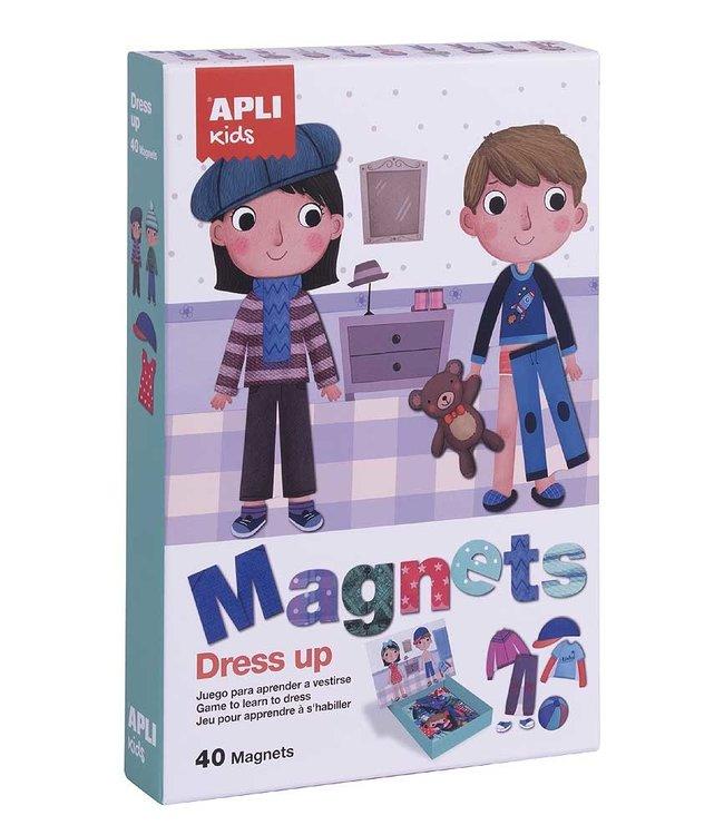 Apli Kleed aan Magneetkaart - Met 40 magneten