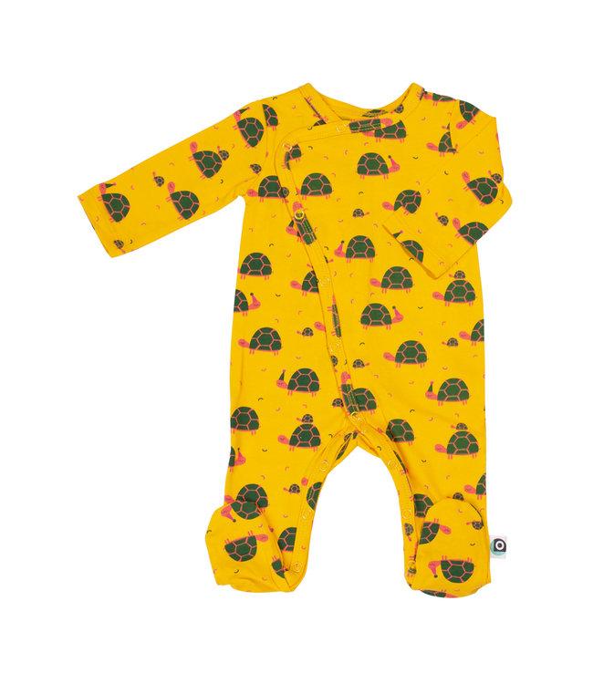 Onnolulu Boxpakje - Pyjama met voetjes GOTS Jersey Katoen Turtle