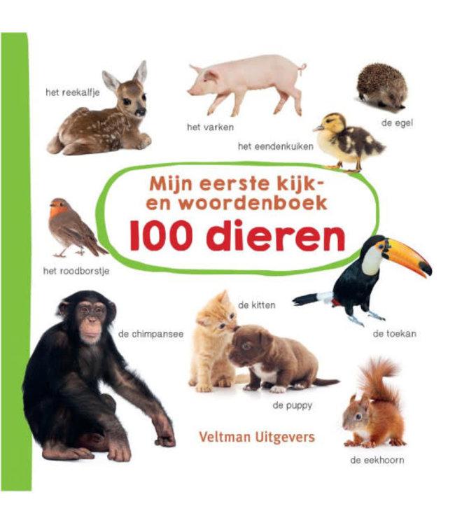 Mijn eerste kijk- en woordenboek: 100 dieren