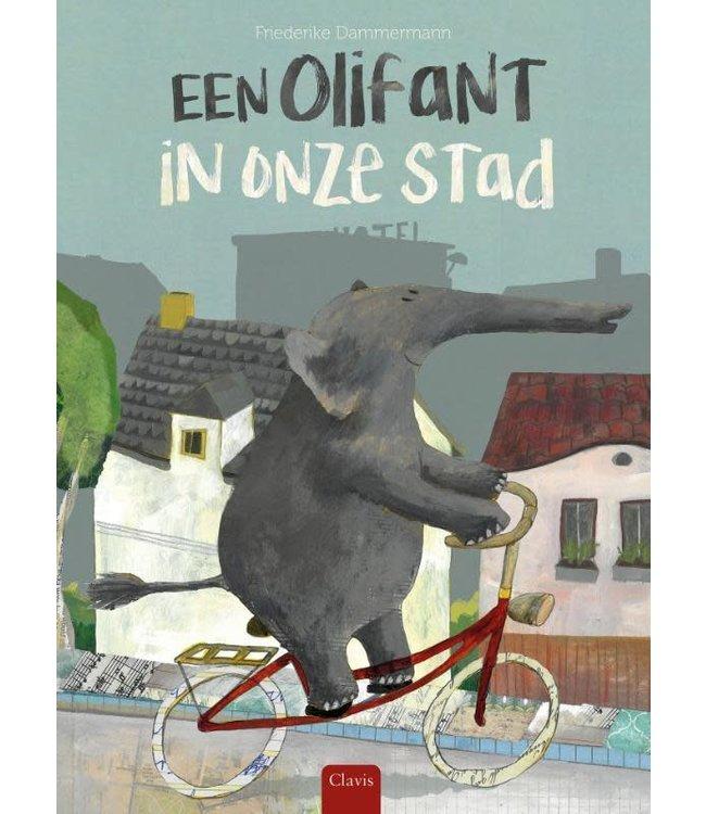 Een olifant in onze stad. Friederike Dammermann