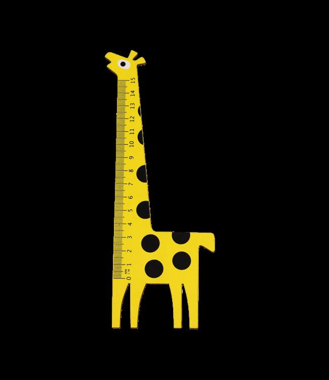 Rex London Houten Liniaal Giraf