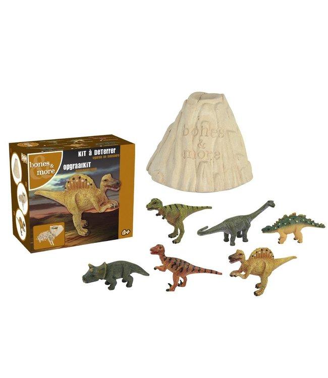 Dig out a painted Dinosaur - Uitgraafsetje Spinosaurus