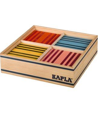 Kapla Kapla 100  8 kleuren assorti - Verpakt in Kist