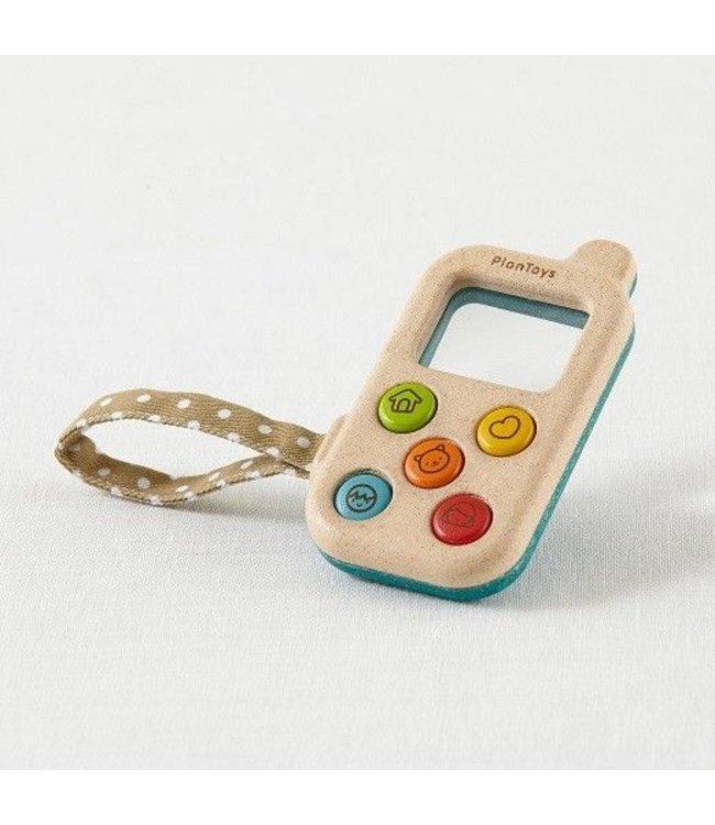 Plan Toys My first phone - telefoon van duurzaam hout