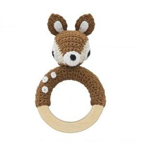 Sebra Sebra bijtring rammelaar bambi 0+